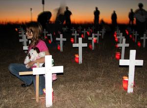 Veglia per la pace negli Usa, ricordando le vittime della guerra in Iraq