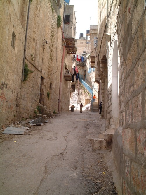Una via di Nablus