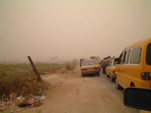 In coda al check point di Abu Holi