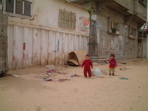 Rafah: bambini palestinesi