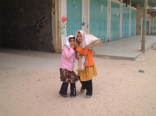 Rafah: bambine palestinesi