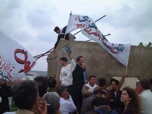 Tul Karm: manifestazione contro la costruzione del muro
