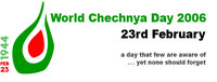 Banner World Chechnya Day