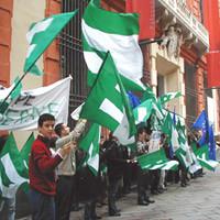 Manifestazione dei giovani federalisti durante la convenzione dei cittadini europei di Genova, 3 e 4 dicembre 2005