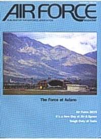 """La copertina della rivista """"Air Force Magazine"""" del dicembre 1996"""