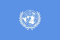 Foto bandiera ONU