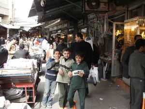 Suleymanya: Nel bazaar.