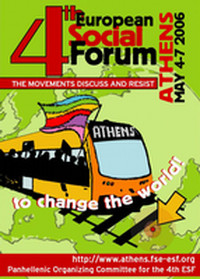 forum sociale europeo di Atene