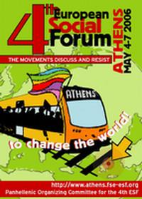 Forum sociale europe di Atene