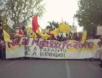 Sabato 28 ottobre, manifestazione popolare contro il rigassificatore