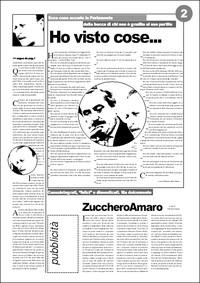 pagina 2 del numero zero