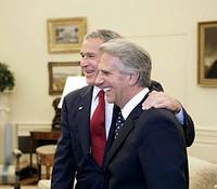 Tabarè e Bush