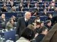 Giorgio Napolitano al Parlamento europeo