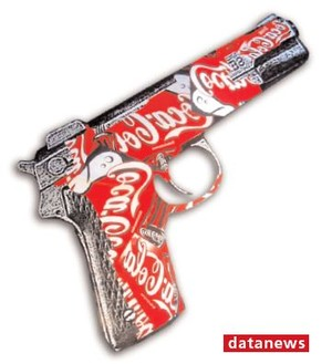 """Immagine di copertina del libro """"La vera storia della Coca-Cola"""""""