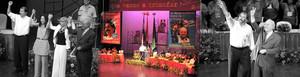 Momenti del Congresso e presentazione del candidato alla Vicepresidenza Jaime Morales Carazo