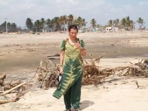 camminare sulla spiaggia dell'oceano e sentirsi a casa.