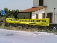Striscione di Greenpeace