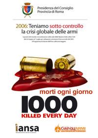 Teniamo sotto controllo la crisi globale delle armi