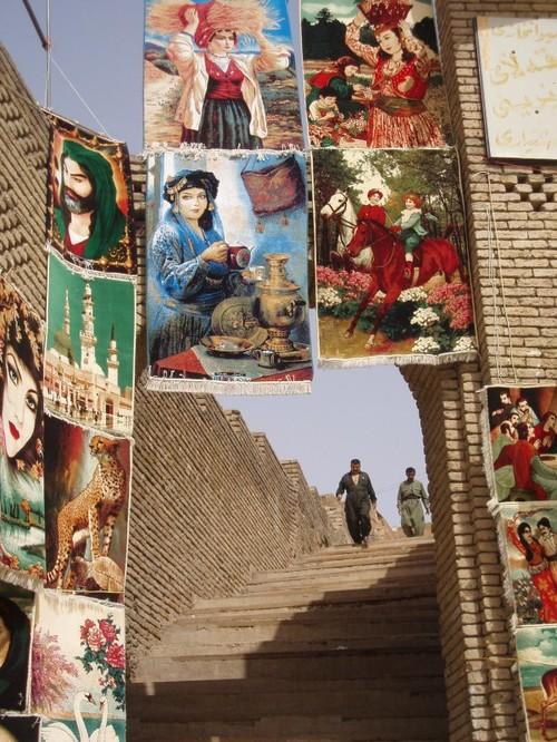 Tappeti al Castello di Erbil