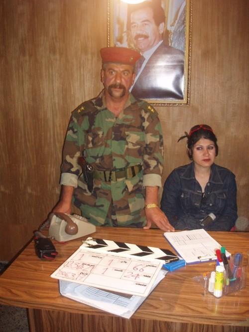 Nel carcere-museo si gira un film riguardante le torture ai tempi di Saddam