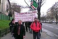 Marcia della pace in Francia