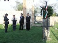 Monte Sole: nel cimitero di Casaglia.