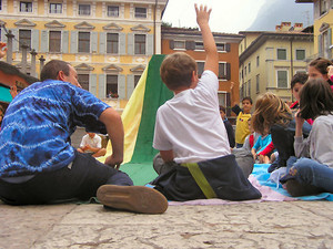 giochi con i bambini a Riva del Garda
