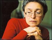 Uccisa Anna Politkovskaya