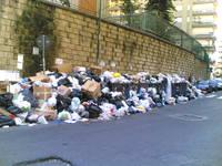 Napoli nell'emergenza rifiuti