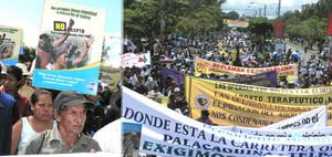 Nicaragua, manifestazione contro il FMI