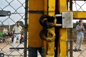 Cancello in Israele-Palestina