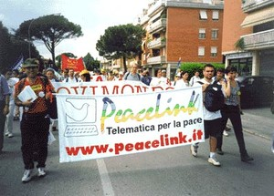PeaceLink alla Marcia per la Pace Perugia-Assisi