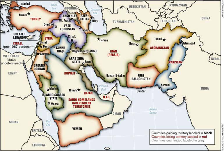 Cartina Geopolitica Medio Oriente.La Demonizzazione Dei Musulmani E La Battaglia Per Il Petrolio