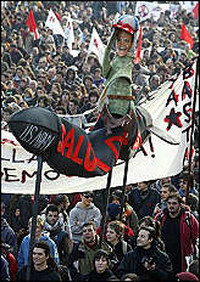 Centomila in corteo a Vicenza (17/2/2007)