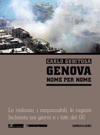 """Copertina libro """"Genova, nome per nome"""""""