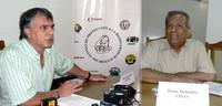 Gerardo Iglesias (UITA) e Denis Meléndez (CISAS) membri della Alianza (©Foto G. Trucchi)