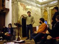 Luigino Ciotti (Circolo I Maggio) e Leonardo Stella (Banca Etica)
