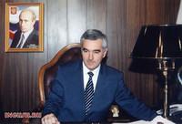 Il presidente della Repubblica dell'Inguscezia Murat Zyazikov
