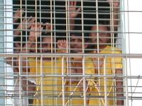 """Migranti detenuti in un """"Centro di Permanenza Temporanea"""""""
