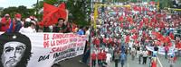 Nicaragua - Marcia dei lavoratori o meeting di Governo?