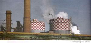 Il centro siderurgico di Taranto