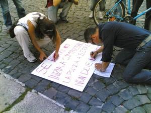 """""""Se Iervolino inizia a compostare la Polizia a Serre non deve andare"""" Attivisti del Comitato Allarme Rifiuti Tossici preparano un manifesto davanti alla Prefettura di Napoli"""