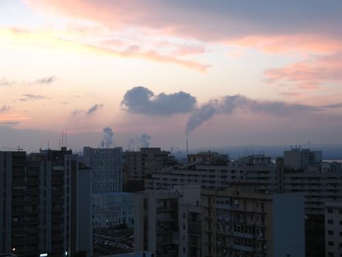 Foto dell'ILVA di Taranto scattata alle 20 e 30, 7 giugno 2007