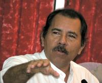 Il presidente del Nicaragua Daniel Ortega Saavedra