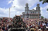 Plaza de la Revolución a Managua il 20 luglio 1979