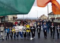 Parenti delle vittime del Bloody Sunday