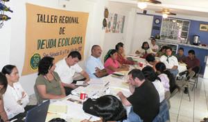 Incontro a San Salvador sul Debito Ecologico della UE con CA