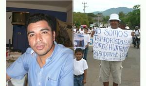 Bernardo Belloso del CRIPDES e la protesta della gente