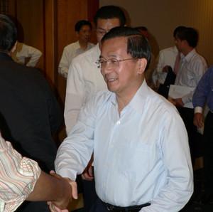Il presidente di Taiwan Chen Shui Bian