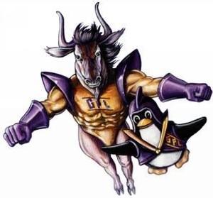 GNU e Tux, i due supereroi, volano insieme per difendere il Free Software!